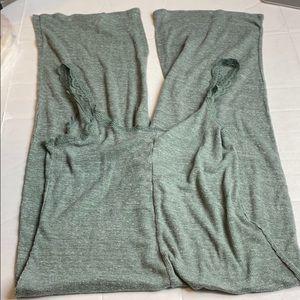 Victoria's Secret Green Jumpsuit Large Lace